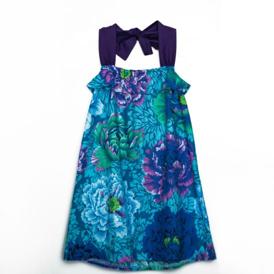 Front dark blue Bianca Series dress