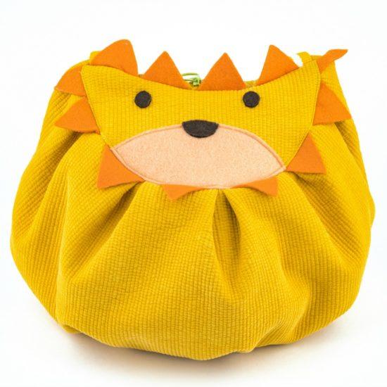 front lion mochi bag