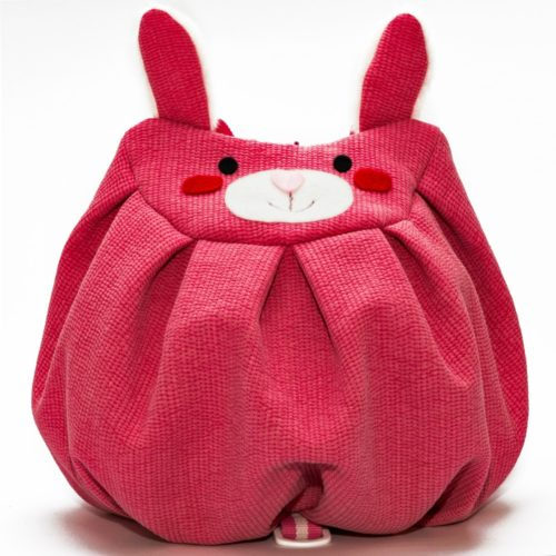 front pink bunny mochi bag