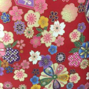 red fabric for bespoke girls cheongsam