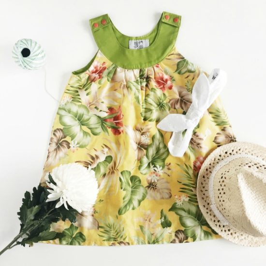Green Tropical Ruby Series Dress