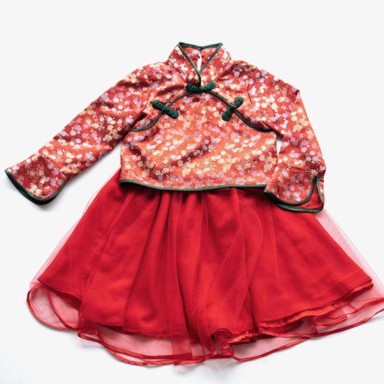 long sleeve traditional cheongsam